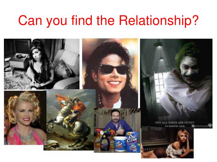 Can you find the Relationship?