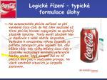 logick zen typick formulace lohy