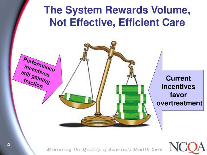 The System Rewards Volume,