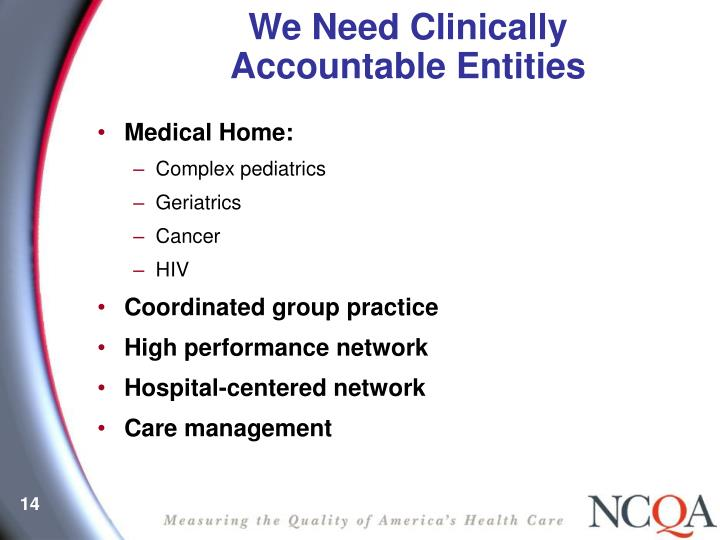 We Need Clinically