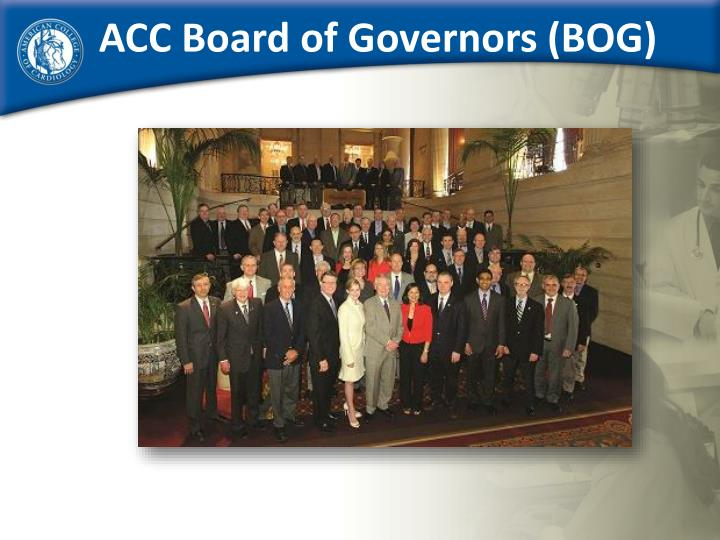 ACC Board of Governors (BOG)