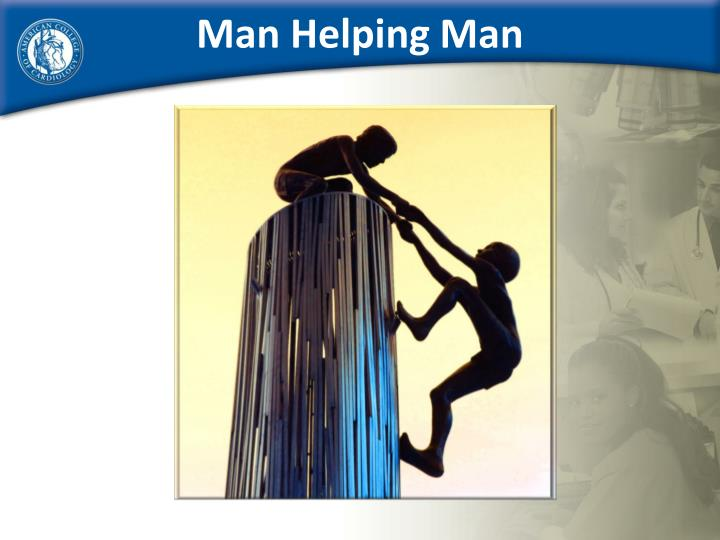 Man Helping Man