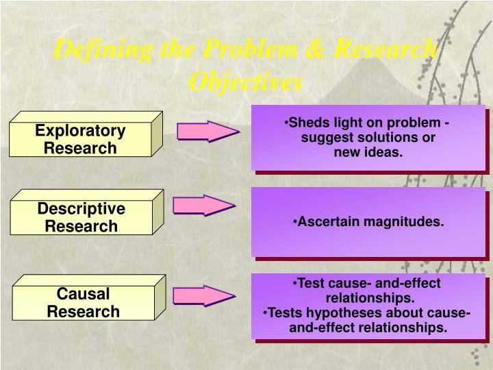 Sheds light on problem -