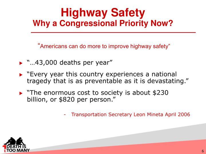 Highway Safety