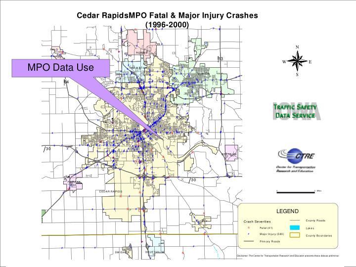 MPO Data Use