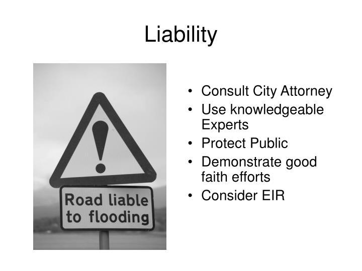 Consult City Attorney