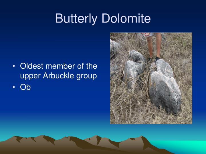 Butterly Dolomite