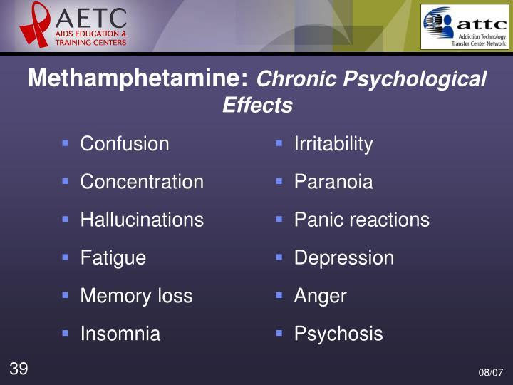 Methamphetamine: