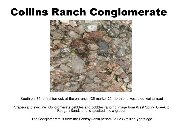 Collins Ranch Conglomerate