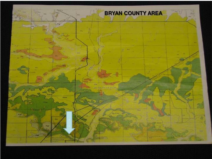 BRYAN COUNTY AREA