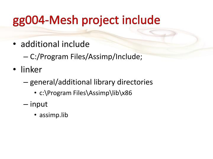 gg004-Mesh project