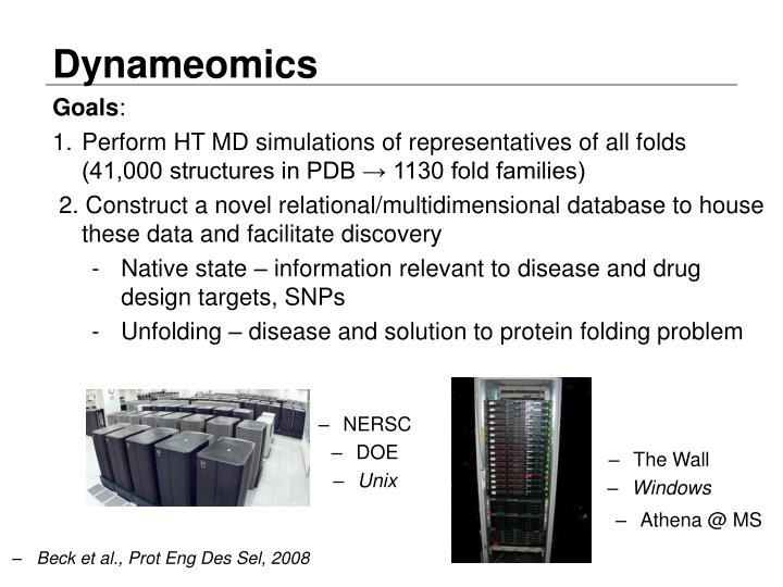 Dynameomics
