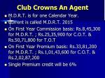 club crowns an agent2