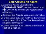 club crowns an agent3
