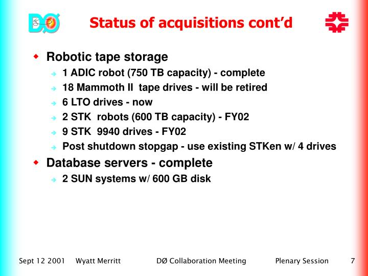 Robotic tape storage