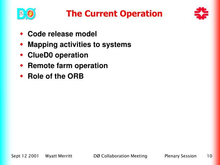 Code release model