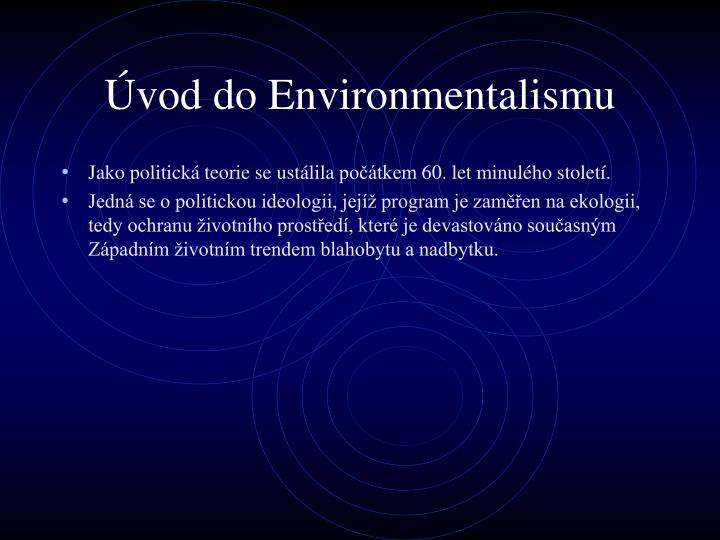 Vod do environmentalismu