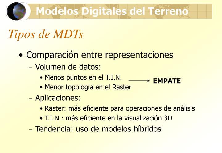 Tipos de mdts1