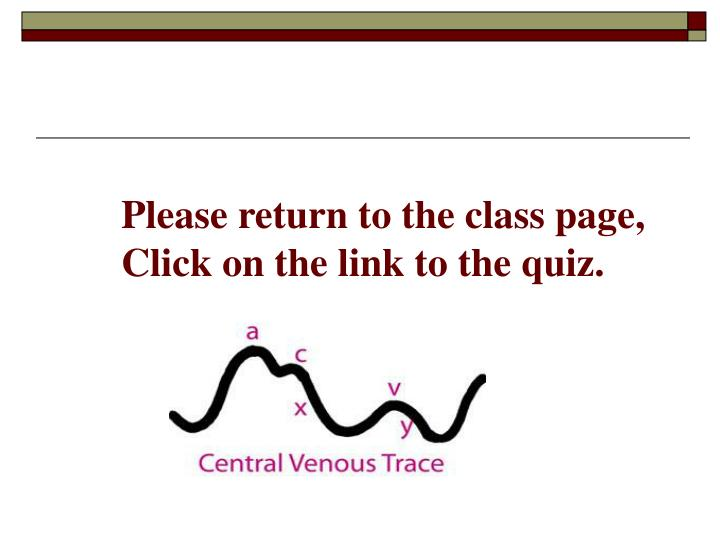 Please return to the class page,