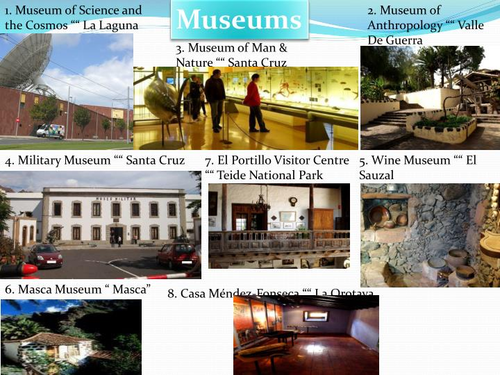 "1. Museum of Science and the Cosmos """" La Laguna"