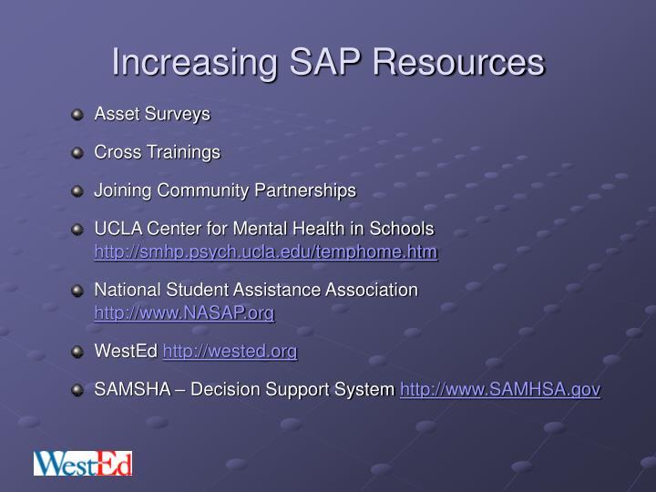 Increasing SAP Resources