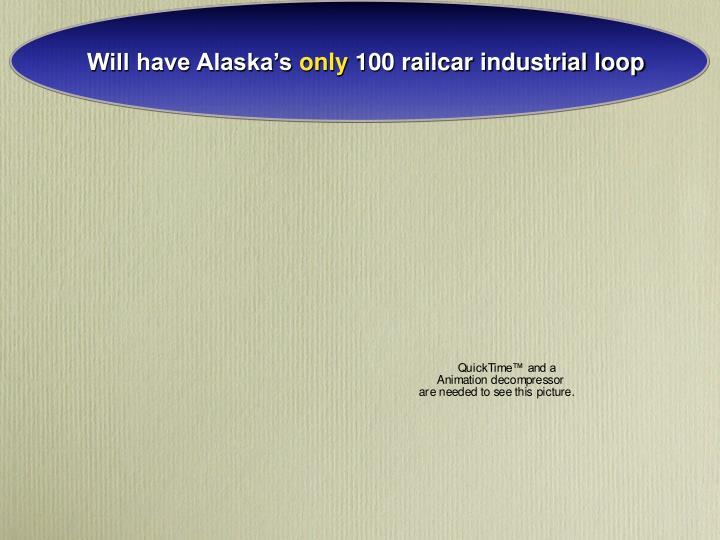 Will have Alaska's