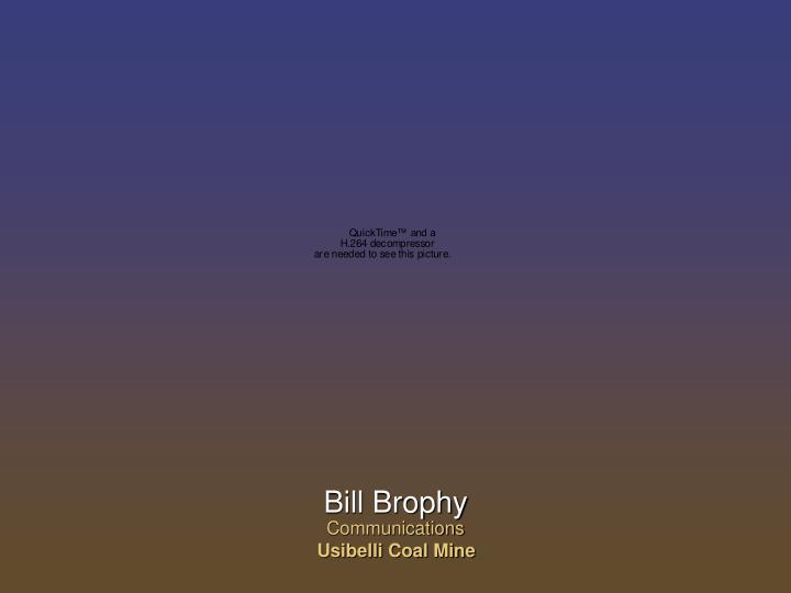 Bill Brophy