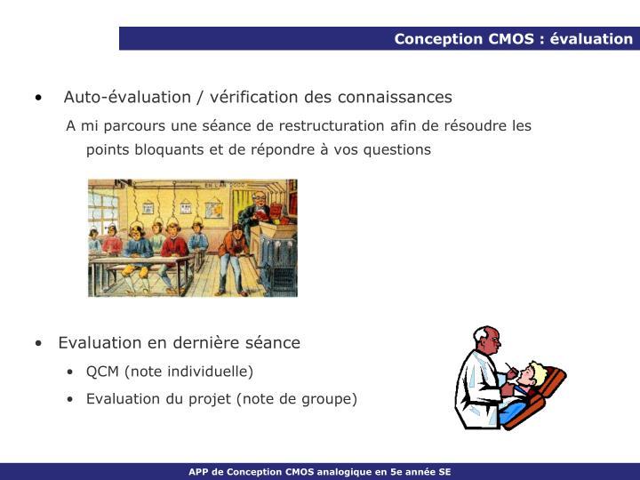 Conception CMOS : évaluation