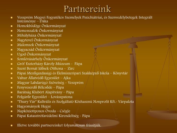 Partnereink