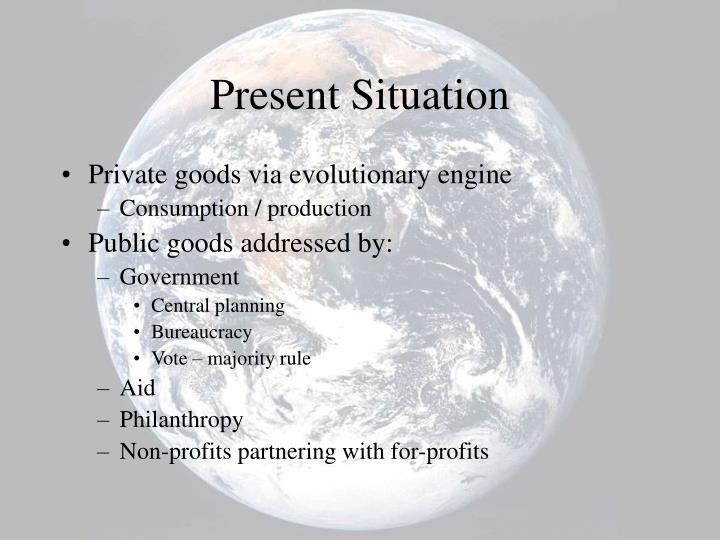 Present Situation