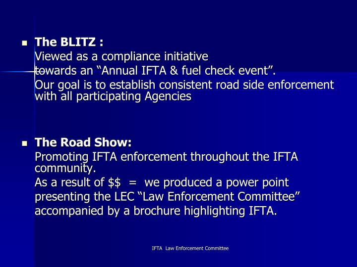 The BLITZ :