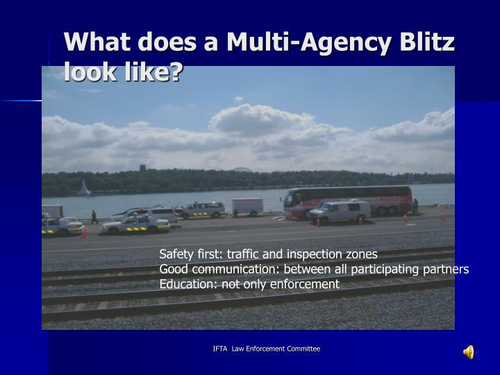 What does a Multi-Agency Blitz look like?