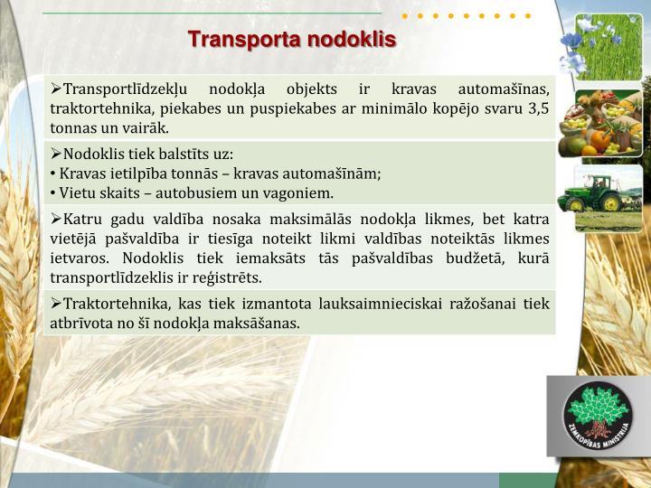 Transporta nodoklis