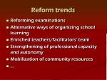 reform trends1