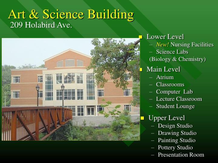 Art & Science Building