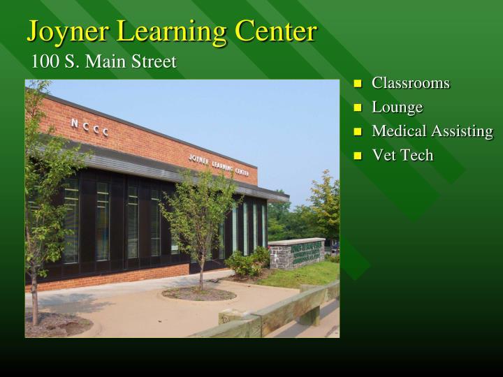 Joyner Learning Center