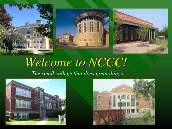 Welcome to NCCC