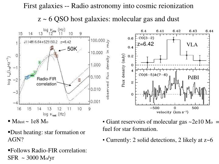 First galaxies -- Radio astronomy into cosmic reionization