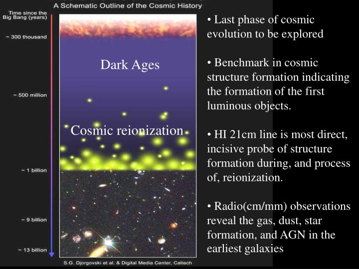 Last phase of cosmic evolution to be explored