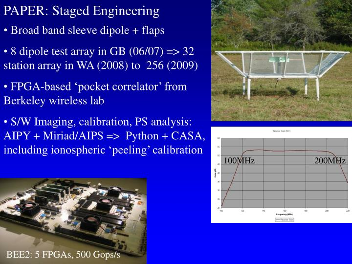 PAPER: Staged Engineering