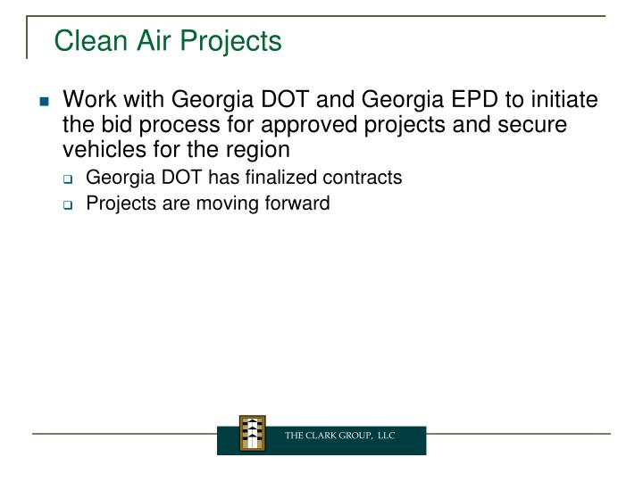 Clean Air Projects