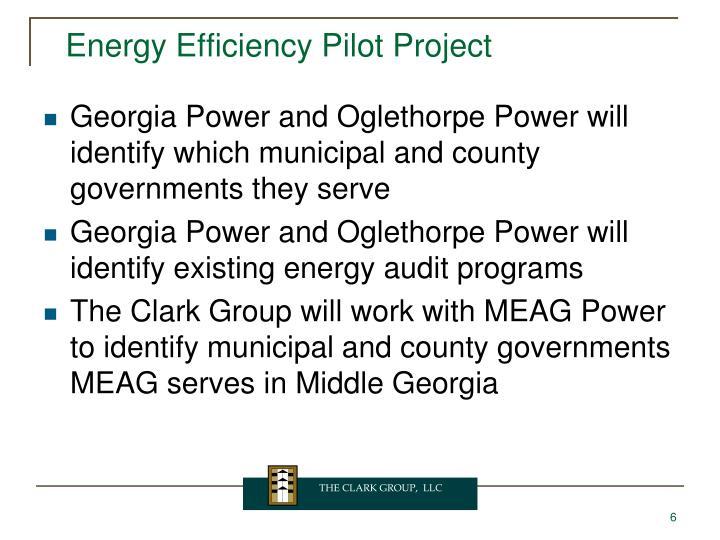 Energy Efficiency Pilot Project
