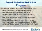 diesel emission reduction program