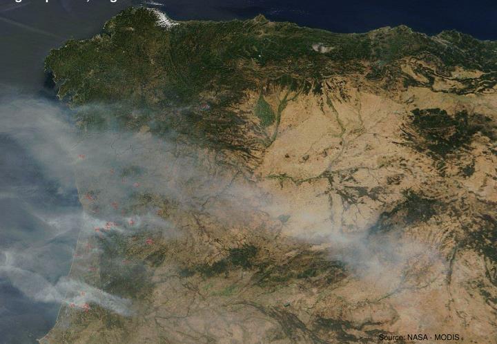 Portugal/Spanien, August 2005