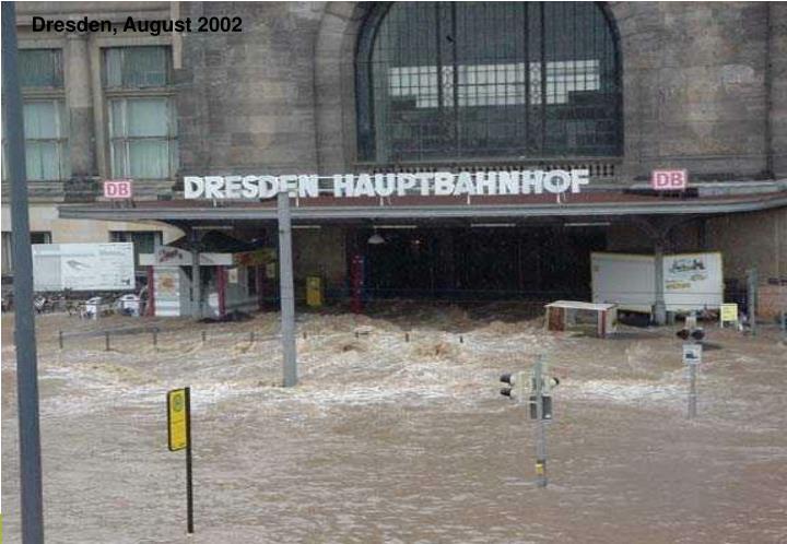 Dresden, August 2002