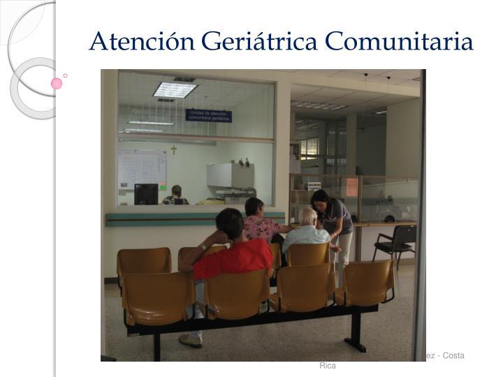 Atención Geriátrica Comunitaria