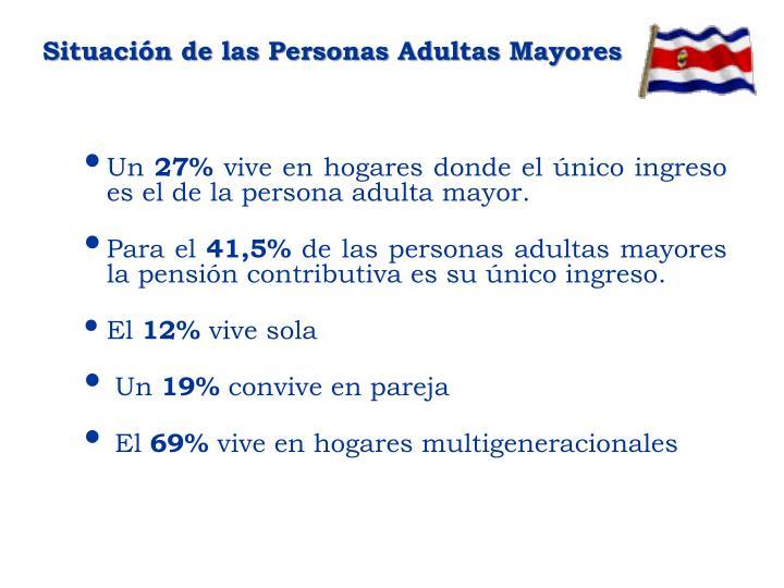 Situación de las Personas Adultas Mayores