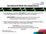 sunderland male life expectancy1