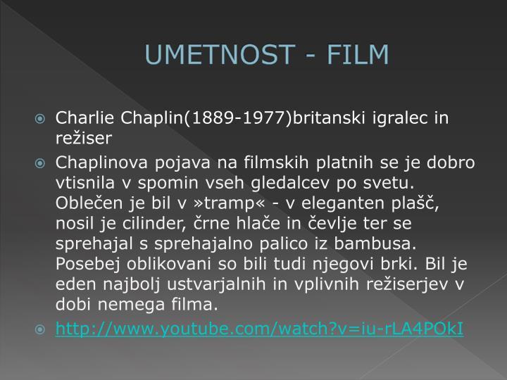 UMETNOST - FILM