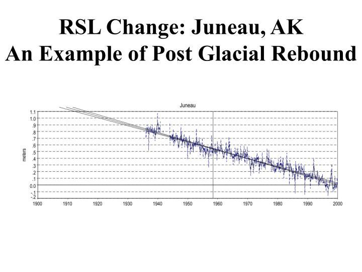 RSL Change: Juneau, AK